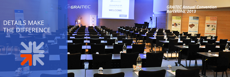 Graitec Annual Convention - Barcelona 2013